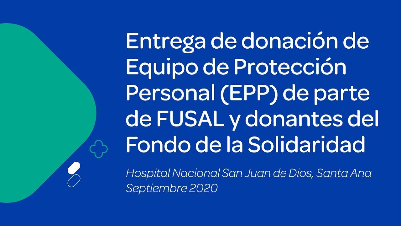 Video subdirector Hospital San Juan de Dios (Fondo de la Solidaridad)